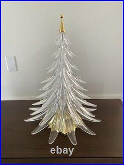 Hoya Crystal Christmas Tree Figurine