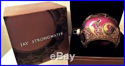 JAY STRONGWATER Christmas Ornament LARGE 2002 Neiman Marcus Swarovski Crystals