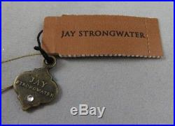 Jay Strongwater Dragon Glass Christmas Ornament Swarovski Crystals Hand Painted