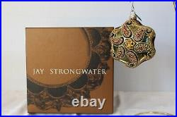 Jay Strongwater Large Christmas Ornament encrusted with Swarovski Crystals 2003