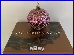Jay Strongwater Swarovski Crystals 2003 Christmas Ornament Ball