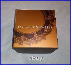 Jay Strongwater Teddy Bear Swarovski Glass Crystal Christmas Ornament-New-In Box