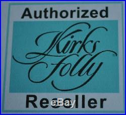 Kirks Folly Christmas Candy Cane Fairy Crystal Ornament New Release