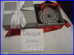 LALIQUE Crystal Christmas 2012 ornament Shooting Star CLEAR NIB signed Perfect