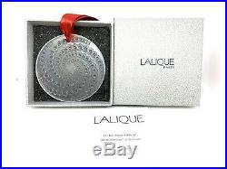 LALIQUE Etoile Filante Shooting Star Clear Christmas Crystal Ornament 2012