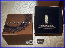Large Christmas Swarovski Crystals Topper & Stand Ornament Jay Strongwater 23