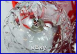 Lot 6 Waterford Crystal Disney Mickey Mouse Holiday Christmas Ornaments withBoxes