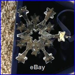 Lot of 14 Swarovski Crystal Annual Snowflake Christmas Ornaments