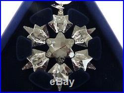 Lot of 5 Swarovski Christmas Crystal Ornament 2006 2007 2008 2009 2010