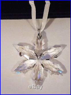 Lot of 6 Swarovski Crystal Christmas Ornaments 2015 & 2016 Annual and Set of 3