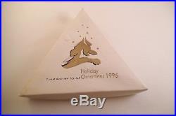 Lovely Swarovski Crystal Christmas Ornament 1995 Snowflake Star