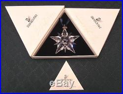 MIB 2001 Swarovski Austrian Crystal Christmas Ornament Perfect and Complete