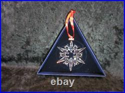 MIB 2007 Swarovski Annual Crystal Snowflake Star Christmas Ornament