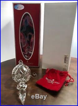 MIB Waterford Crystal 2006 Kinsale Spire Xmas Holiday Ornament Jeweled Enhancer