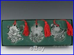 Marquis Waterford 12 Days of Xmas 2nd Edition Set 3 Ornament Calling Bird Rings