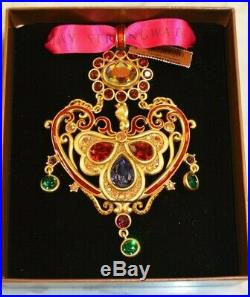 Mib Jay Strongwater 2015 Annual Frame Christmas Holiday Crystal Jeweled Ornament