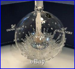 Mib Swarovski Christmas Ornament Ball 2013 Annual Ed. #5004498