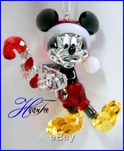 Mickey Mouse Disney Christmas Ornament 2018 Authentic Swarovski Crystal 5412847