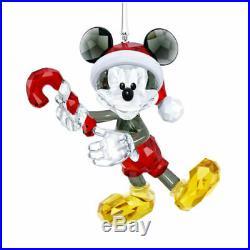 Mickey Mouse Disney Swarovski Crystal Christmas Ornament 5412847