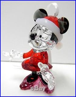 Minnie Mouse Christmas Ornament Disney Crystal 2013 Swarovski Xmas #5004687