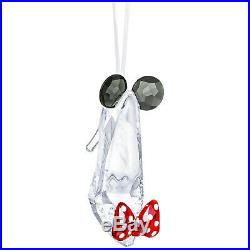 Minnie Mouse Inspired Shoe Christmas Ornament 2019 Swarovski Crystal 5475568
