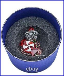 NEW 100% SWAROVSKI Crystal Kris Bear Christmas Annual Edition 2021 Deco 5597045