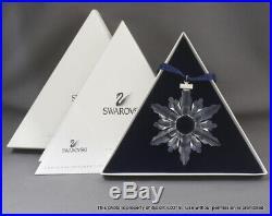 NEW SWAROVSKI CRYSTAL 1998 CHRISTMAS Snowflake ORNAMENT 9445NR980001