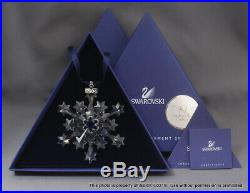 NEW SWAROVSKI CRYSTAL 2004 CHRISTMAS ORNAMENT 9445NR200401 Rockefeller Center