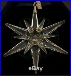 NEW Swarovski Crystal 2005 Christmas STAR/SNOWFLAKE ORNAMENT NIB WithCOA