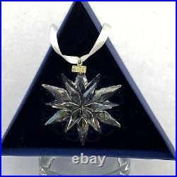 NEW Swarovski Crystal 2011 Annual Large Christmas Snowflake Ornament 20 Year B