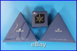 NEW Swarovski Crystal Large Christmas Ornament 2011 2012 Little Star LOT