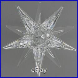 NEW Swarovski Star Candle Holder 5064295 Retired Christmas Table Decor Crystal