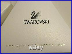 NIB Swarovski Crystal 1999 Annual Snowflake Holiday Christmas Ornament A. 9445