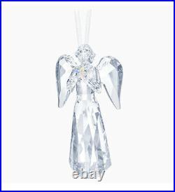 NIB Swarovski Crystal Christmas Angel Ornament AB Star 2019 Limited A. E #5457071