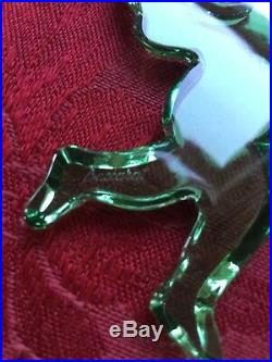 NIPB NEW FLAWLESS Stunning BACCARAT Crystal CHERUB ANGEL NOEL Christmas Ornament
