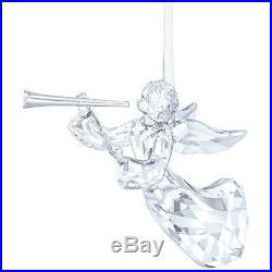 New 2016 Swarovski Annual Angel Ornament Bnib #5215541 Christmas Ltd Ed Horn F/s