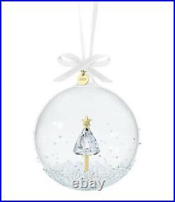 New In Box 100% Authentic Swarovski Annual Edition 2021 Ball Ornament #5596399