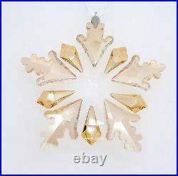 New In Box Swarovski Winter Sparkle Snowflake Crystal Ornament Display 5535541