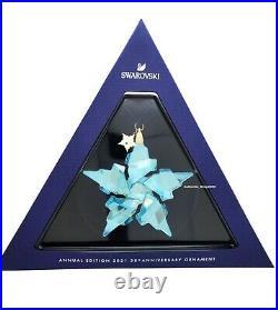 New Swarovski Crystal 2021 Annual Edition 30th Ornament Display 5596079