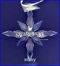 New Swarovski Disney Frozen 2 Snowflake Ornament Crystal Display 5492737