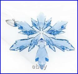 New Swarovski Disney Frozen Movie Snowflake Blue Crystal Ornament 5286457
