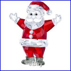 New! Swarovski Santa Claus 2018 Christmas Crystal 5291584 New