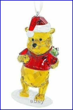 Nib $200 Swarovski Winnie The Pooh Christmas Ornament #5030561