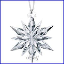 Nib 2011 Large Swarovski Crystal Christmas Ornament Star/snowflake 1092037