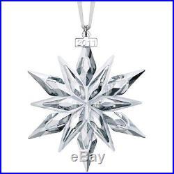 Nib 2011 Swarovski Crystal Christmas Ornament Star/snowflake #1092037