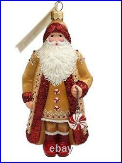 Patricia Breen Willamette Falls Claus Gingerbread Cookie Christmas Ornament CATZ