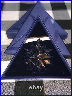 RARE 2011 Swarovski Crystal Snowflake Christmas 20 Year Edition Ornament! NIB