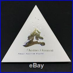 RARE Retired Christmas Swarovski Crystal 1995 Star Snowflake Ornament 191635