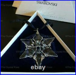 RARE Retired Swarovski 2000 Annual Edition Snowflake Christmas Ornament 243452