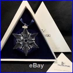 RARE Retired Swarovski 2000 Christmas Ornament Star Snowflake 243452 COMPLETE